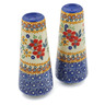 6-inch Stoneware Salt and Pepper Set - Polmedia Polish Pottery H2316K