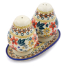 6-inch Stoneware Salt and Pepper Set - Polmedia Polish Pottery H3696J