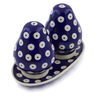 6-inch Stoneware Salt and Pepper Set - Polmedia Polish Pottery H3699J