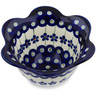 6-inch Stoneware Scalloped Bowl - Polmedia Polish Pottery H1336L