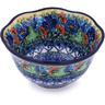 6-inch Stoneware Scalloped Bowl - Polmedia Polish Pottery H7322G
