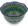 6-inch Stoneware Scalloped Bowl - Polmedia Polish Pottery H8898G