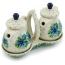 6-inch Stoneware Seasoning Set - Polmedia Polish Pottery H7186A