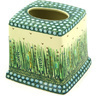 6-inch Stoneware Tissue Box Cover - Polmedia Polish Pottery H0663D