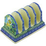 6-inch Stoneware Toast Holder - Polmedia Polish Pottery H4687G