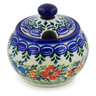 6 oz Stoneware Sugar Bowl - Polmedia Polish Pottery H5560K
