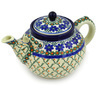 61 oz Stoneware Tea or Coffee Pot - Polmedia Polish Pottery H5073D