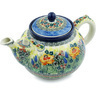 61 oz Stoneware Tea or Coffee Pot - Polmedia Polish Pottery H8873H