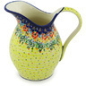 64 oz Stoneware Pitcher - Polmedia Polish Pottery H9733G