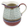 67 oz Stoneware Pitcher - Polmedia Polish Pottery H8368K
