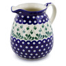 67 oz Stoneware Pitcher - Polmedia Polish Pottery H8513A