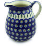 67 oz Stoneware Pitcher - Polmedia Polish Pottery H9778E