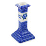 7-inch Stoneware Candle Holder - Polmedia Polish Pottery H3109B