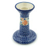 7-inch Stoneware Candle Holder - Polmedia Polish Pottery H3115C
