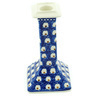 7-inch Stoneware Candle Holder - Polmedia Polish Pottery H6140H