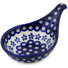 7-inch Stoneware Condiment Server - Polmedia Polish Pottery H0468A