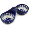 7-inch Stoneware Condiment Server - Polmedia Polish Pottery H0578A