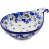 7-inch Stoneware Condiment Server - Polmedia Polish Pottery H5487I