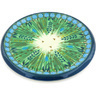 7-inch Stoneware Cutting Board - Polmedia Polish Pottery H3504G