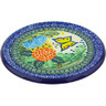 7-inch Stoneware Cutting Board - Polmedia Polish Pottery H4677G