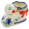 7-inch Stoneware Duck Shaped Jar - Polmedia Polish Pottery H4148K