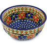 7-inch Stoneware Fluted Bowl - Polmedia Polish Pottery H0493H
