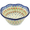 7-inch Stoneware Fluted Bowl - Polmedia Polish Pottery H3451H