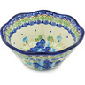 7-inch Stoneware Fluted Bowl - Polmedia Polish Pottery H4042H