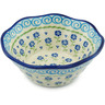 7-inch Stoneware Fluted Bowl - Polmedia Polish Pottery H9249H