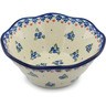 7-inch Stoneware Fluted Bowl - Polmedia Polish Pottery H9736H