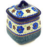 7-inch Stoneware Jar with Lid - Polmedia Polish Pottery H7356D