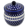 7-inch Stoneware Jar with Lid - Polmedia Polish Pottery H8931B
