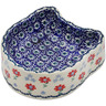 7-inch Stoneware Pet Bowl - Polmedia Polish Pottery H3129K