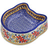 7-inch Stoneware Pet Bowl - Polmedia Polish Pottery H3185K