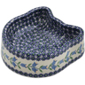 7-inch Stoneware Pet Bowl - Polmedia Polish Pottery H6544K