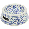 7-inch Stoneware Pet Bowl - Polmedia Polish Pottery H8344K