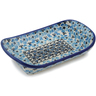 7-inch Stoneware Platter with Handles - Polmedia Polish Pottery H7524K