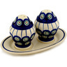 7-inch Stoneware Salt and Pepper Set - Polmedia Polish Pottery H0613D