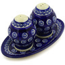 7-inch Stoneware Salt and Pepper Set - Polmedia Polish Pottery H1861E