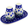 7-inch Stoneware Salt and Pepper Set - Polmedia Polish Pottery H2287D