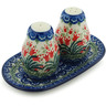 7-inch Stoneware Salt and Pepper Set - Polmedia Polish Pottery H2940I