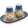 7-inch Stoneware Salt and Pepper Set - Polmedia Polish Pottery H3673K