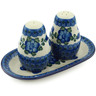 7-inch Stoneware Salt and Pepper Set - Polmedia Polish Pottery H3683A
