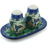7-inch Stoneware Salt and Pepper Set - Polmedia Polish Pottery H4013H