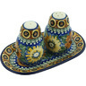 7-inch Stoneware Salt and Pepper Set - Polmedia Polish Pottery H5186H