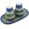 7-inch Stoneware Salt and Pepper Set - Polmedia Polish Pottery H6052E