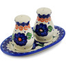 7-inch Stoneware Salt and Pepper Set - Polmedia Polish Pottery H7960K