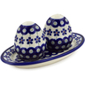 7-inch Stoneware Salt and Pepper Set - Polmedia Polish Pottery H8196A