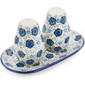 7-inch Stoneware Salt and Pepper Set - Polmedia Polish Pottery H8952K