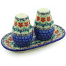 7-inch Stoneware Salt and Pepper Set - Polmedia Polish Pottery H9987E